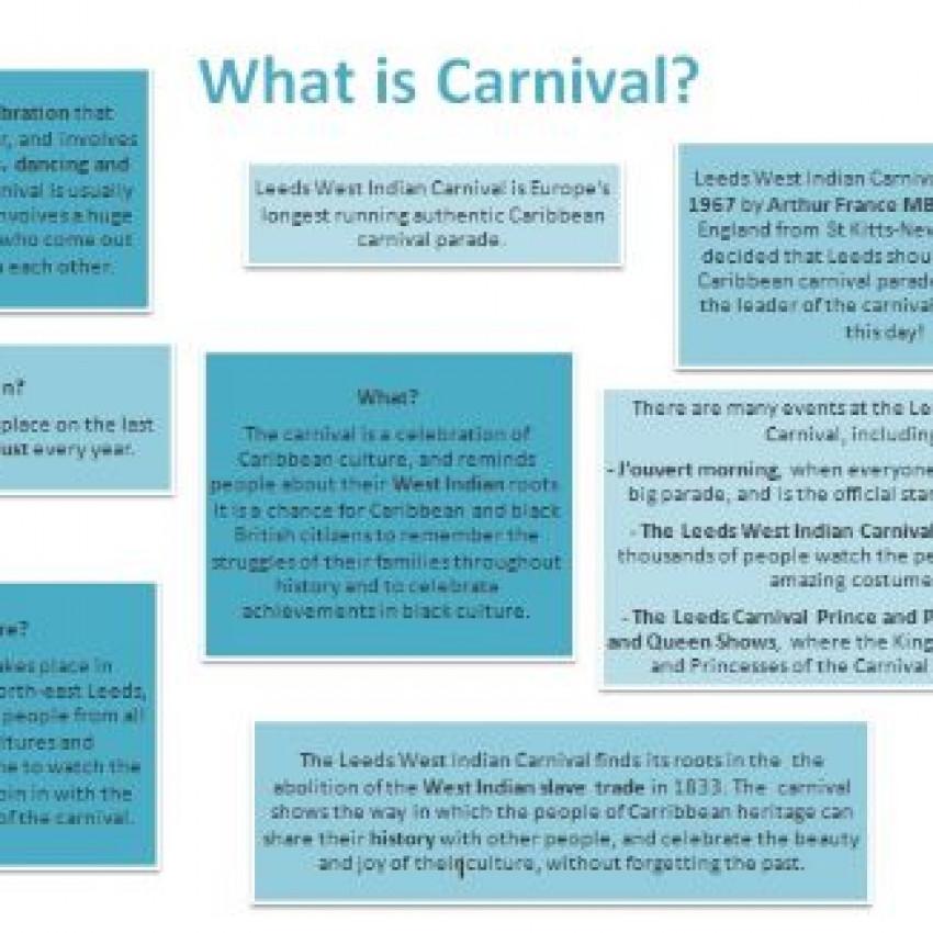 Leeds West Indian Carnival fact sheet (Word)