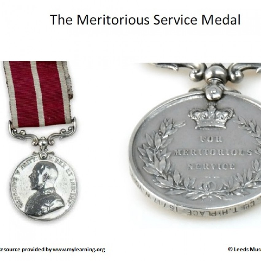 Images of WW1 Medals (PowerPoint)