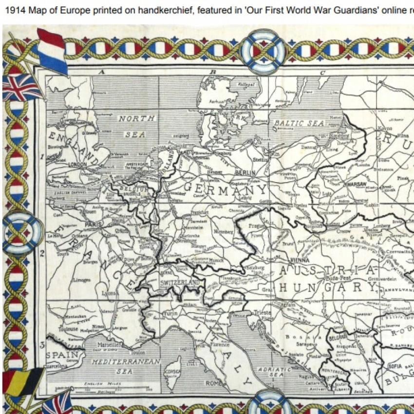 Map of Europe 1914 (PDF)
