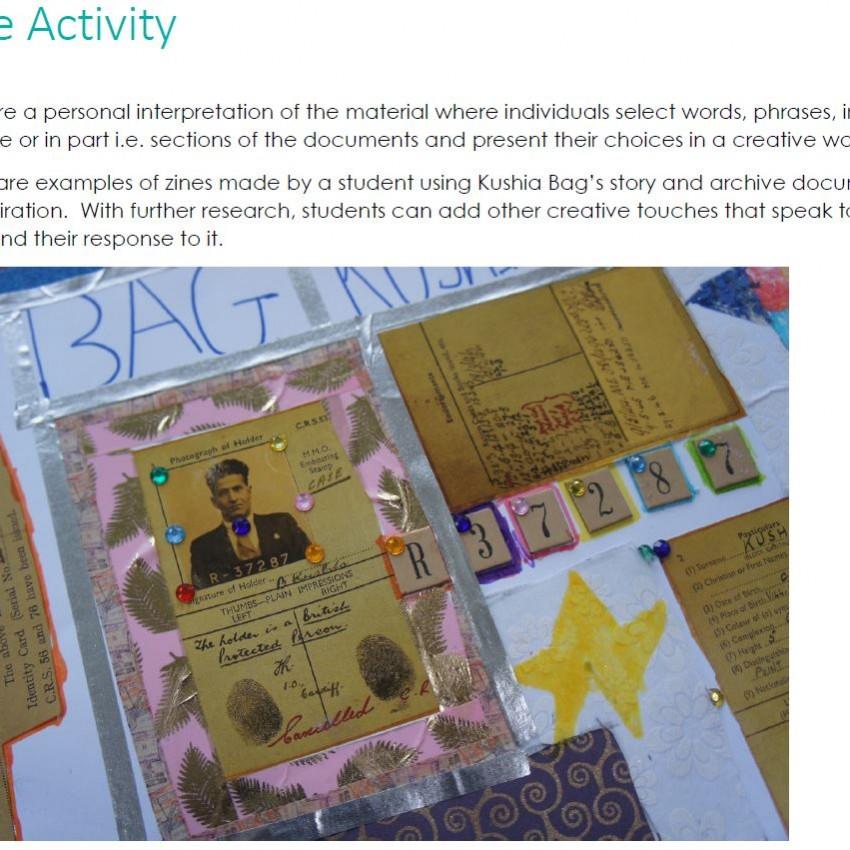 Zine Activity